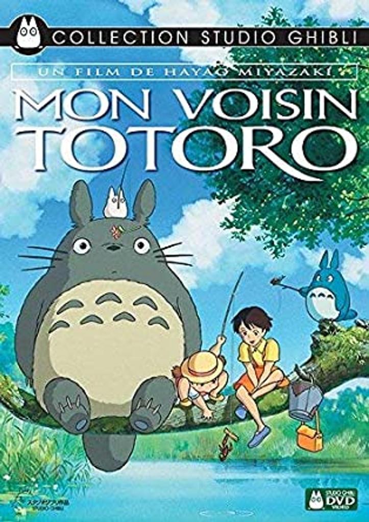 Mon voisin Totoro / Hayao Miyazaki, réal.   Miyazaki, Hayao. Monteur. Antécédent bibliographique. Scénariste