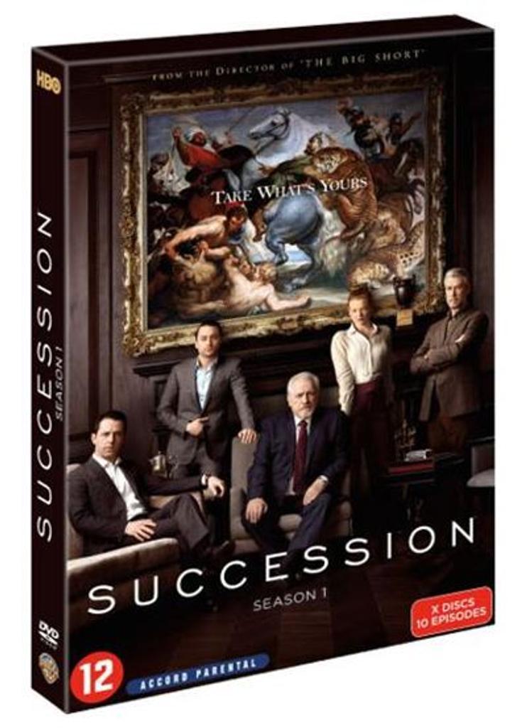 Succession Saison 1. 1 = Saison 1 / Mark Mylod, Adam Arkin, Miguel Arteta, S.J. Clarkson, Adam McKay, Andrij Parekh, réal.  |