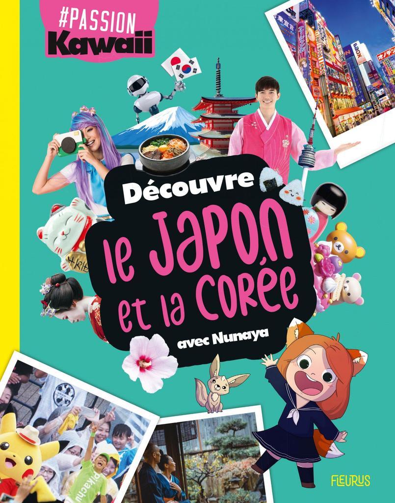 Découvre le Japon et la Corée avec Nunaya / illustrations Meghan Marino | Nunaya. Auteur