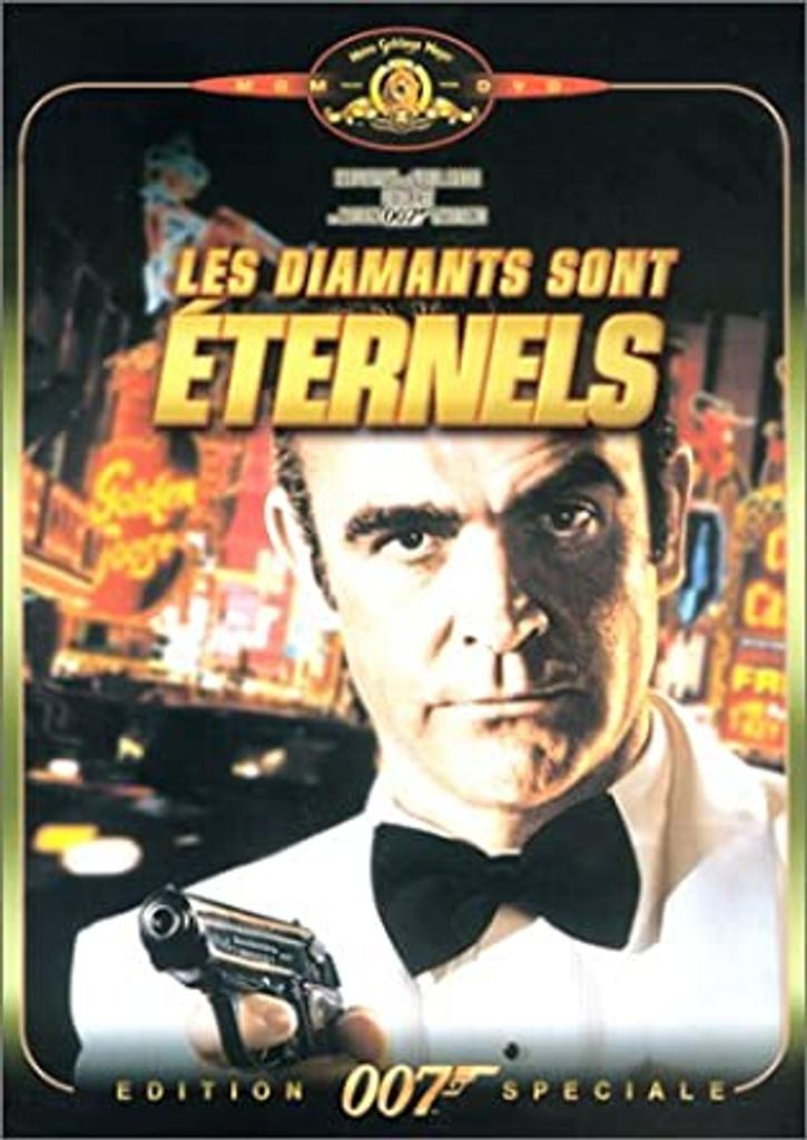 James Bond, Les diamants sont éternels. 7 / Guy Hamilton, réal.  